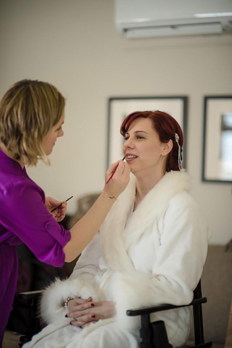 Taconic Hotel Vermont Bridal Makeup